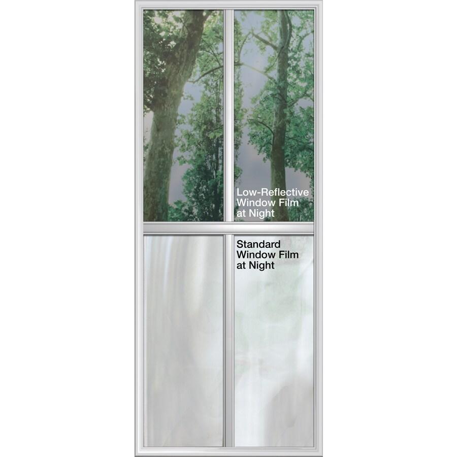 Bathroom Window Privacy Film Lowes: Shop GILA 48-in W X 15-ft L Bronze Heat-Control Adhesive
