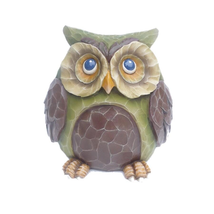 7.5-in H Owl Garden Statue
