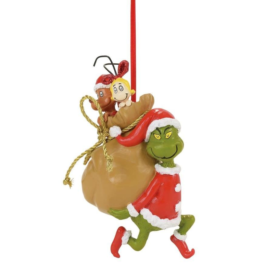 Shop Grinch Licensed Character Carrying Stowaway Bag With