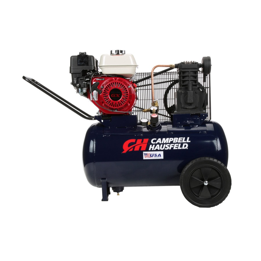 Campbell Hausfeld 20-Gallon Portable Gas Horizontal Air Compressor
