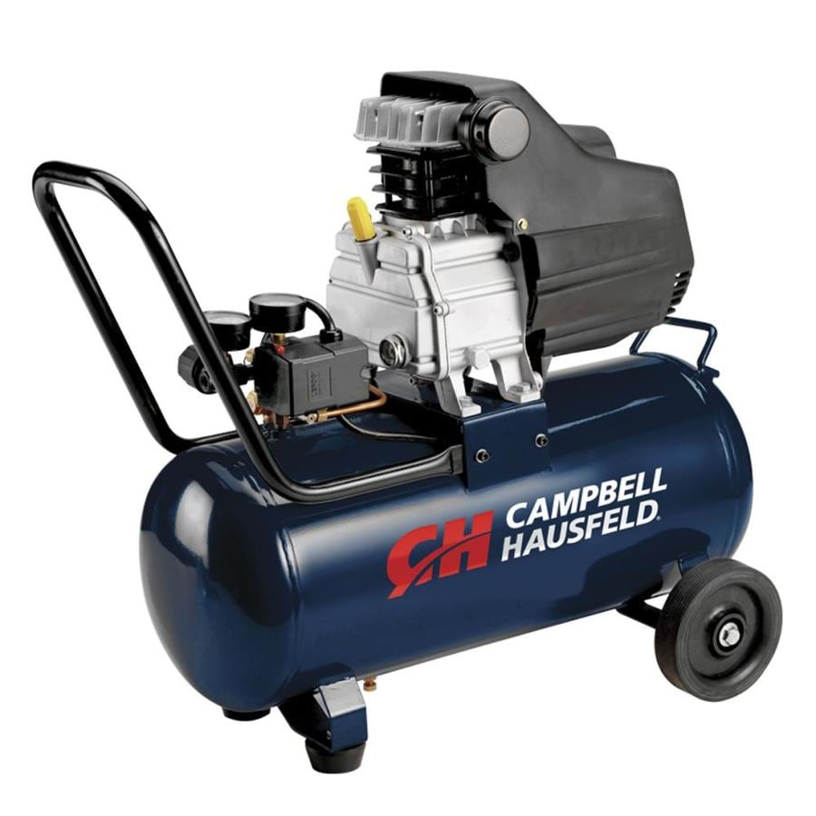 Campbell Hausfeld 1.3-HP 8-Gallon 125-PSI 120-Volt Horizontal Portable Electric Air Compressor