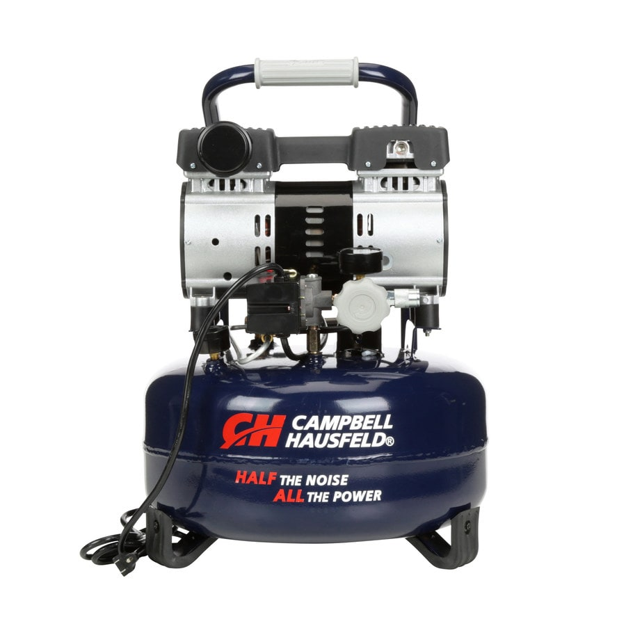 Campbell Hausfeld 1-Hp 6-Gallon 125-PSI 120-Volt Pancake Portable Electric Air Compressor