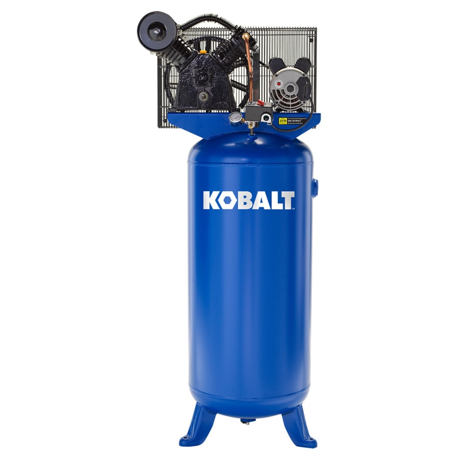 Kobalt 60 Gallon Electric Vertical Air Compressor At Lowes Com