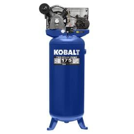 kobalt 60-gallon electric vertical air compressor