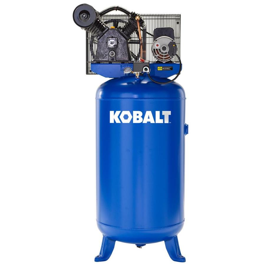 kobalt 80-gallon electric vertical air compressor
