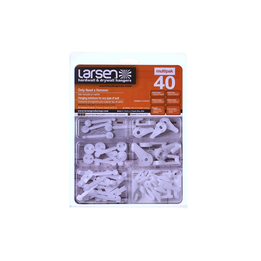 40 Piece Variety Pack Picture Hanger
