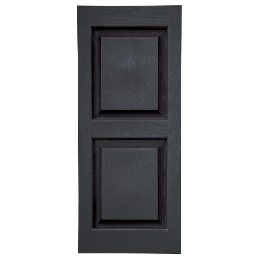 Shop Severe Weather 2 Pack Black Raised Panel Vinyl
