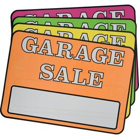 Garage/Yard sale Signs at Lowes com