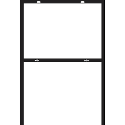 Hillman Sign Center 43-1/2-in Steel Open Frame at Lowes com