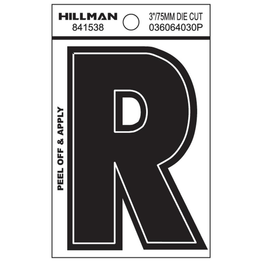 Hillman 2.1-in House Letter R