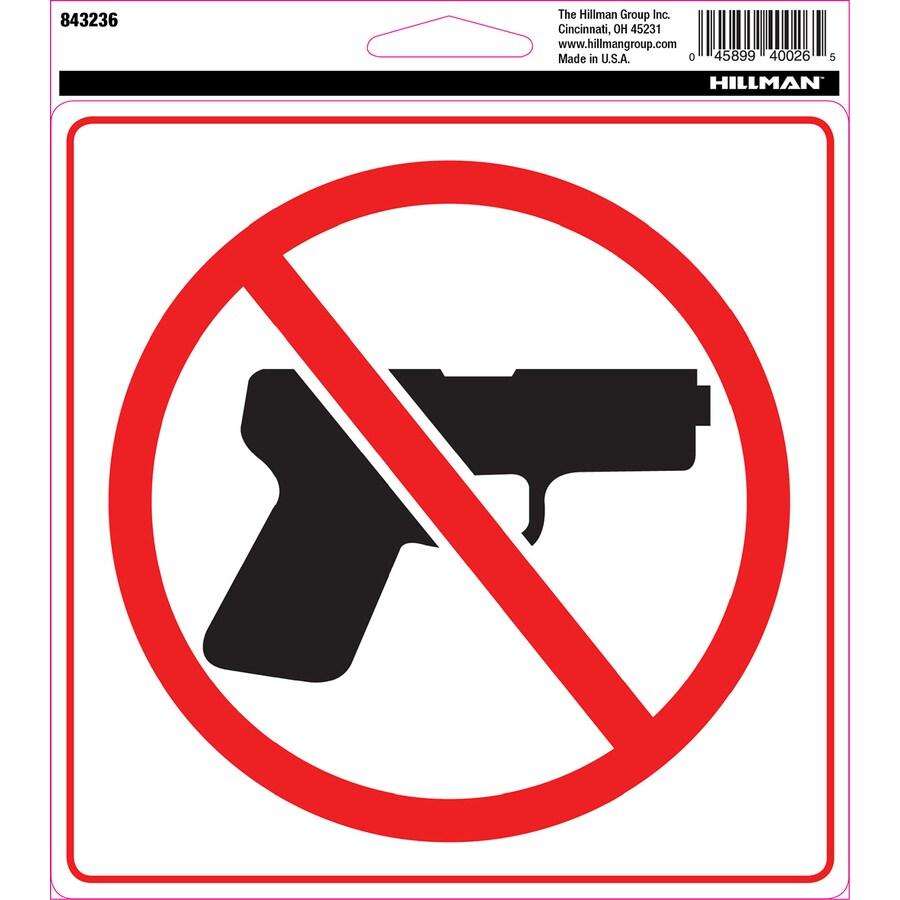 Hillman 6-in House Letter Guns