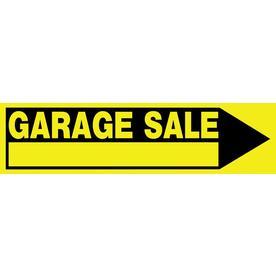 Garage Yard Sale Signs At Lowes Com