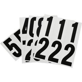 hillman 3 in reflective mylar number pack