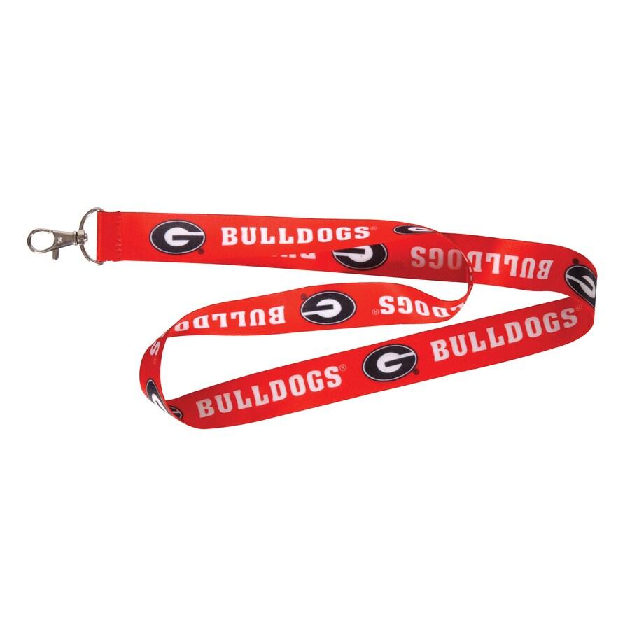 The Hillman Group HM NCAA Lanyard- Georgia Bulldogs