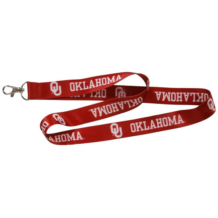 Hillman HM NCAA Lanyard- Oklahoma Sooners