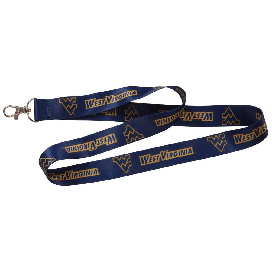 Hillman HM NCAA Lanyard-West Virginia Mountaineers