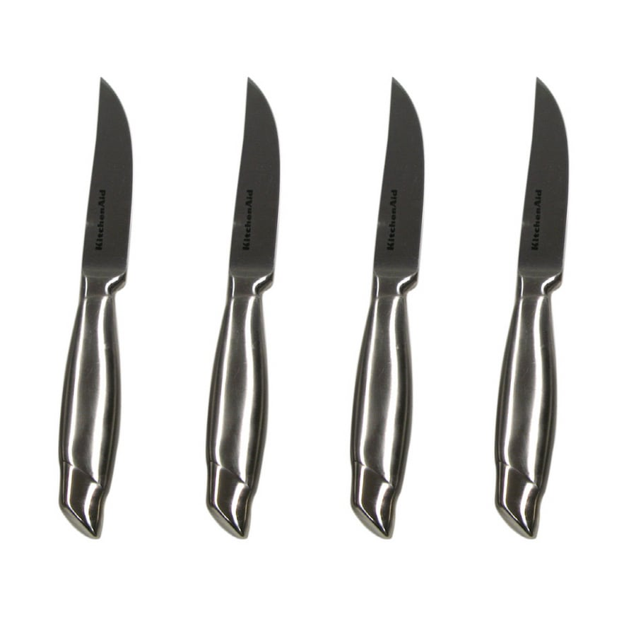 KitchenAid Set of 4 Stainless Steel Knives at Lowes.com