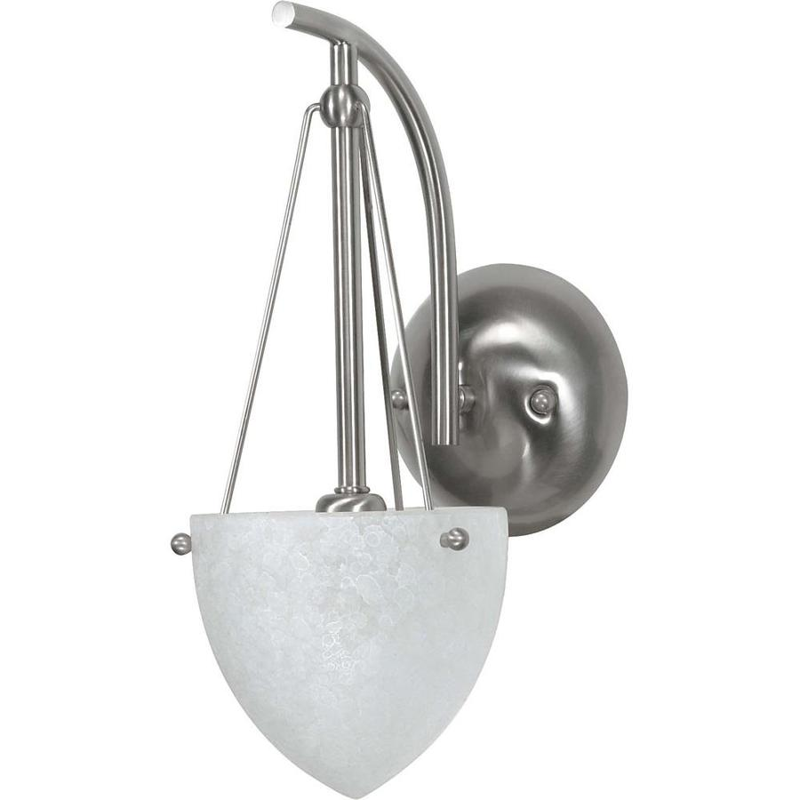 Beach Lighting Products: South Beach 1-Light 5.75-in Brushed Nickel Vanity Light At