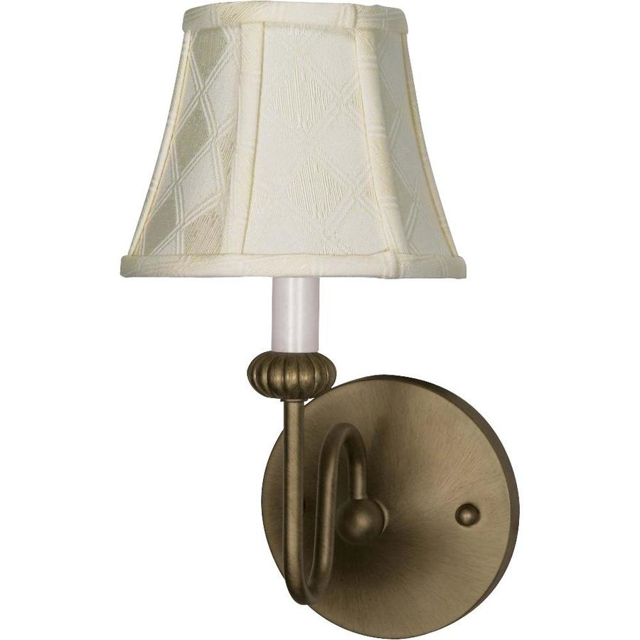 Adjustable Wall Sconce Lowe S : Shop Vanguard 14.75-in W 1-Light Nickel Arm Wall Sconce at Lowes.com