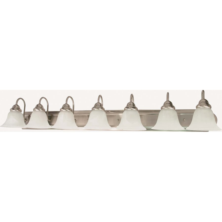 Ballerina 7-Light Brushed Nickel Vanity Light