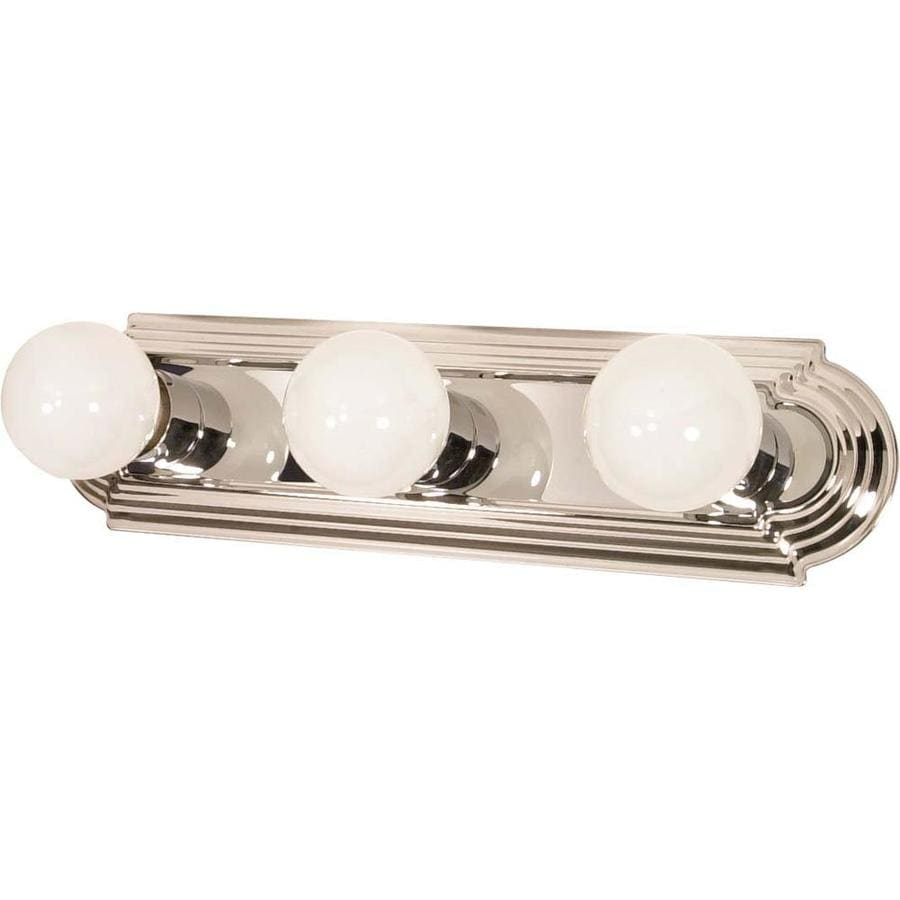 Ballerina 3-Light 4.75-in Polished Chrome Vanity Light