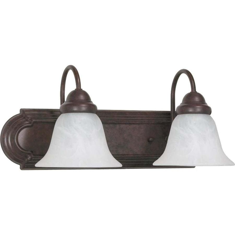Ballerina 2-Light 7.625-in Old Bronze Vanity Light