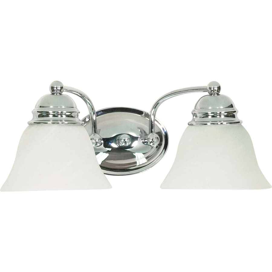 Vanity Lights Polished Chrome : Shop 2-Light 6.5-in Polished Chrome Vanity Light at Lowes.com
