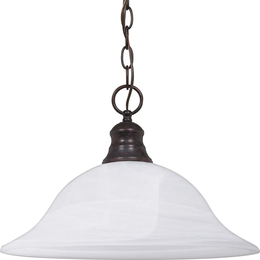 Rockport Tuscano 17.5-in Old Bronze Single Bell Pendant