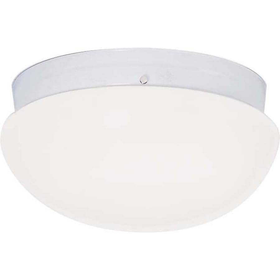 2-in W White Flush Mount Light