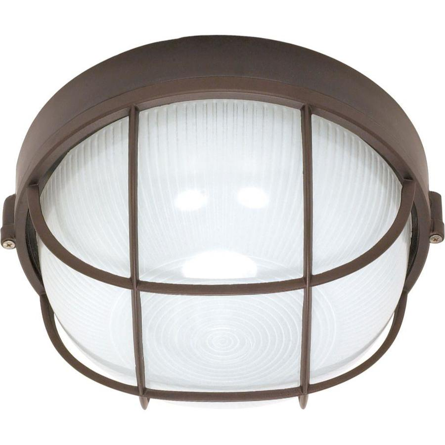 20.71-in H Architectural Bronze Outdoor Wall Light