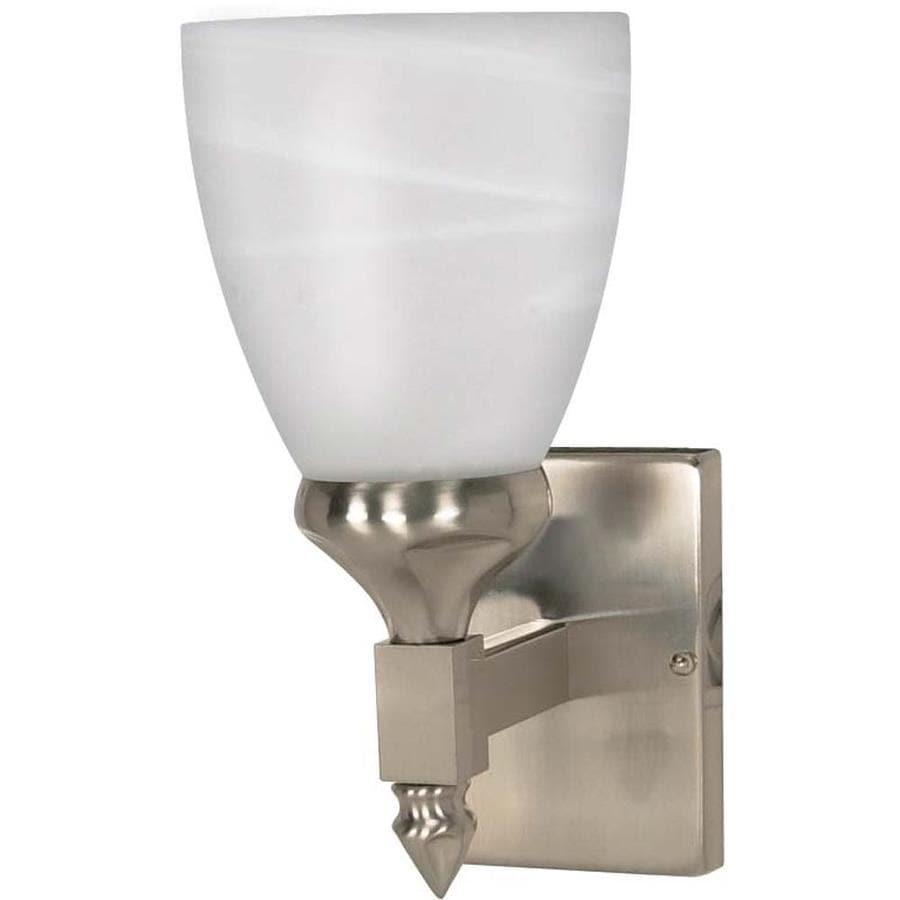 Triumph 1-Light 10.5-in Brushed Nickel Vanity Light