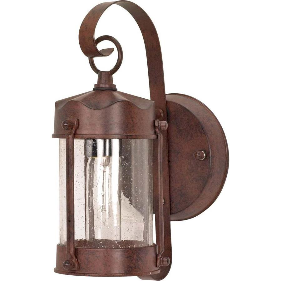 12.74-in H Old Bronze Outdoor Wall Light