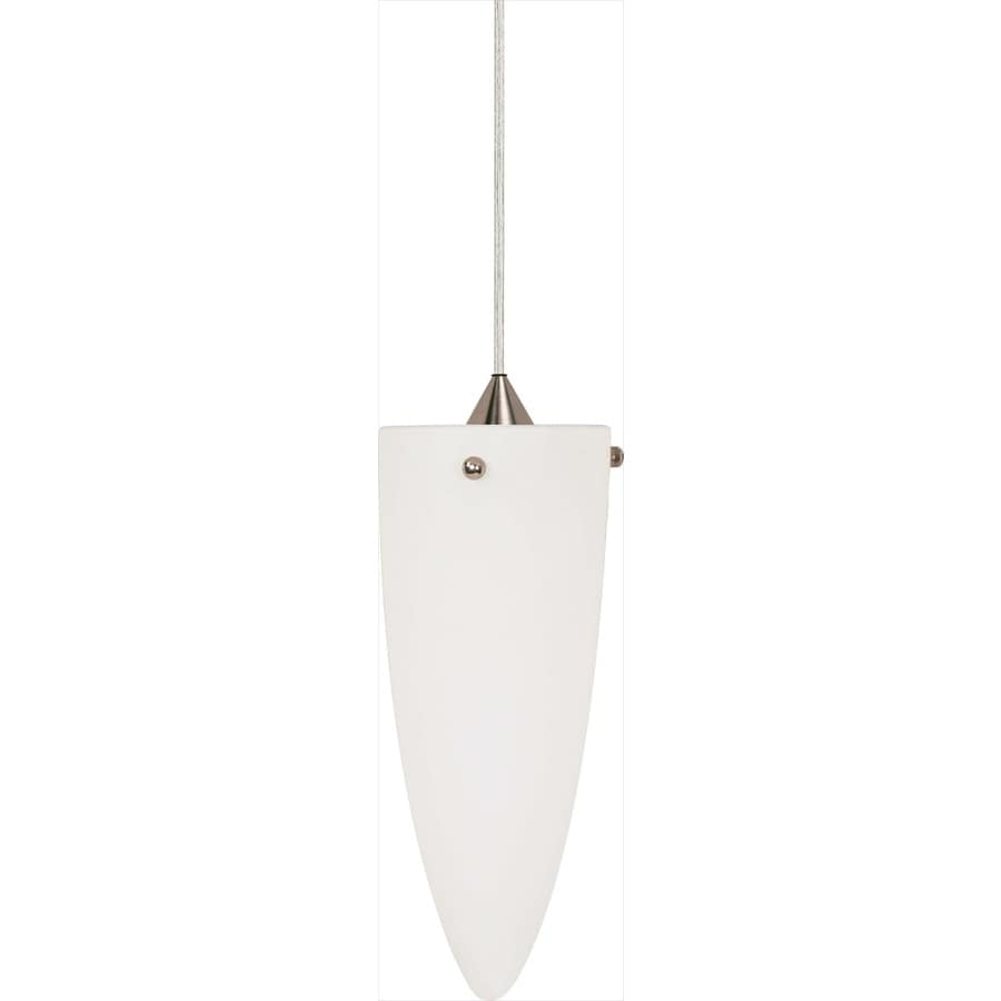 Milano 18-in Brushed Nickel Mini Bell Pendant