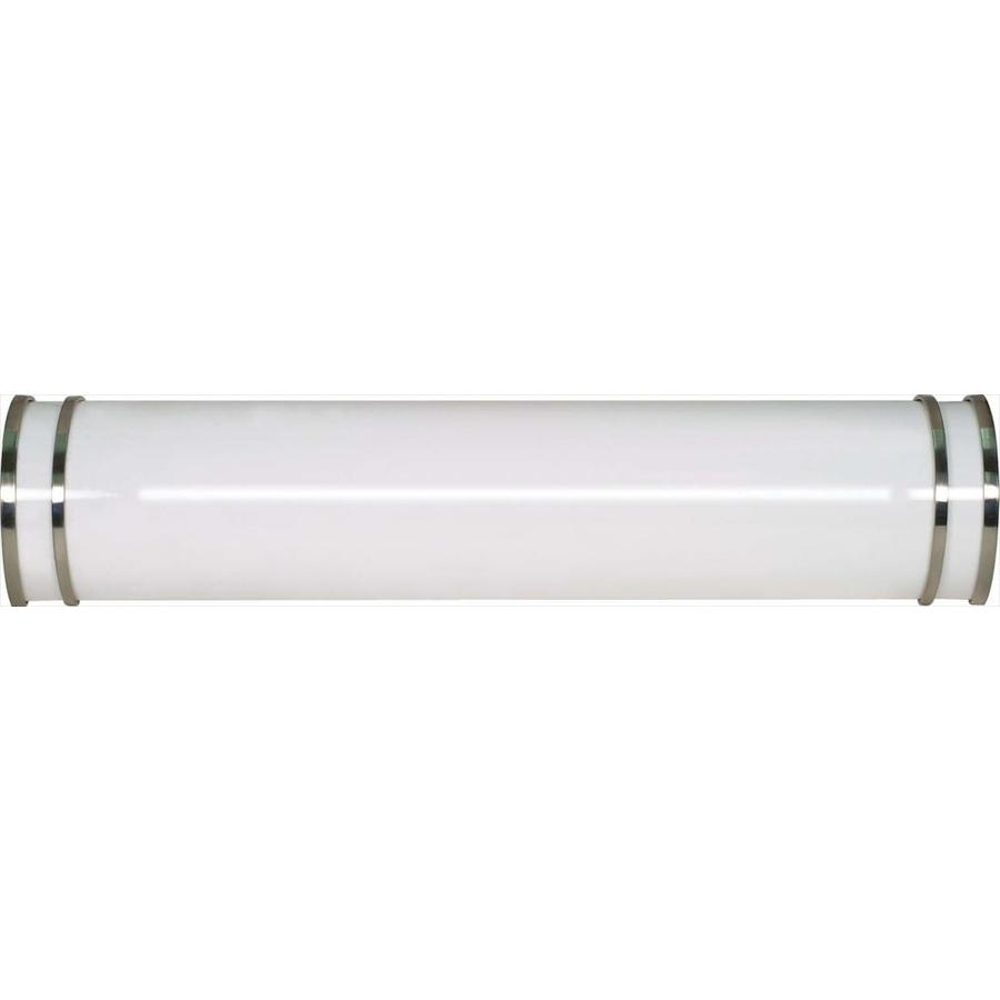 Glamour 1-Light 5.5-in Brushed nickel Vanity Light