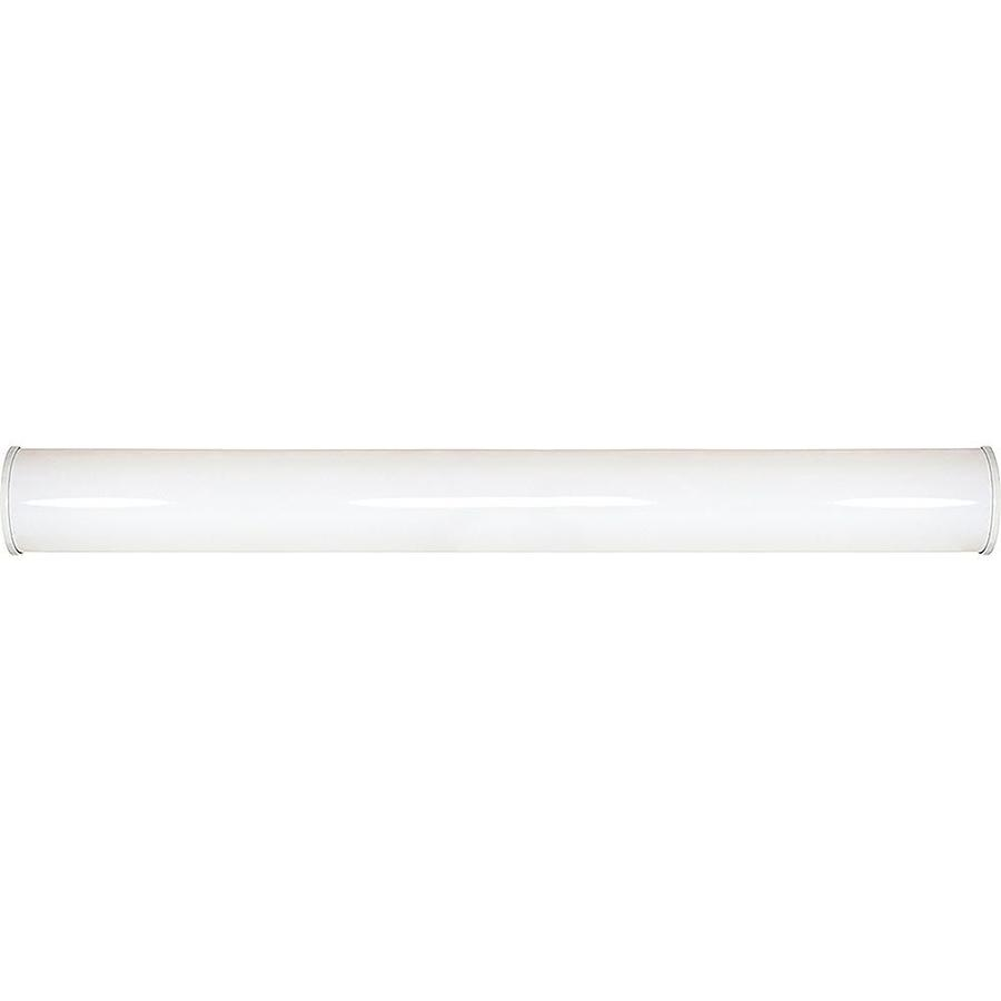 Lowes White Vanity Lights : Shop Crispo 1-Light 5.5-in White Vanity Light at Lowes.com