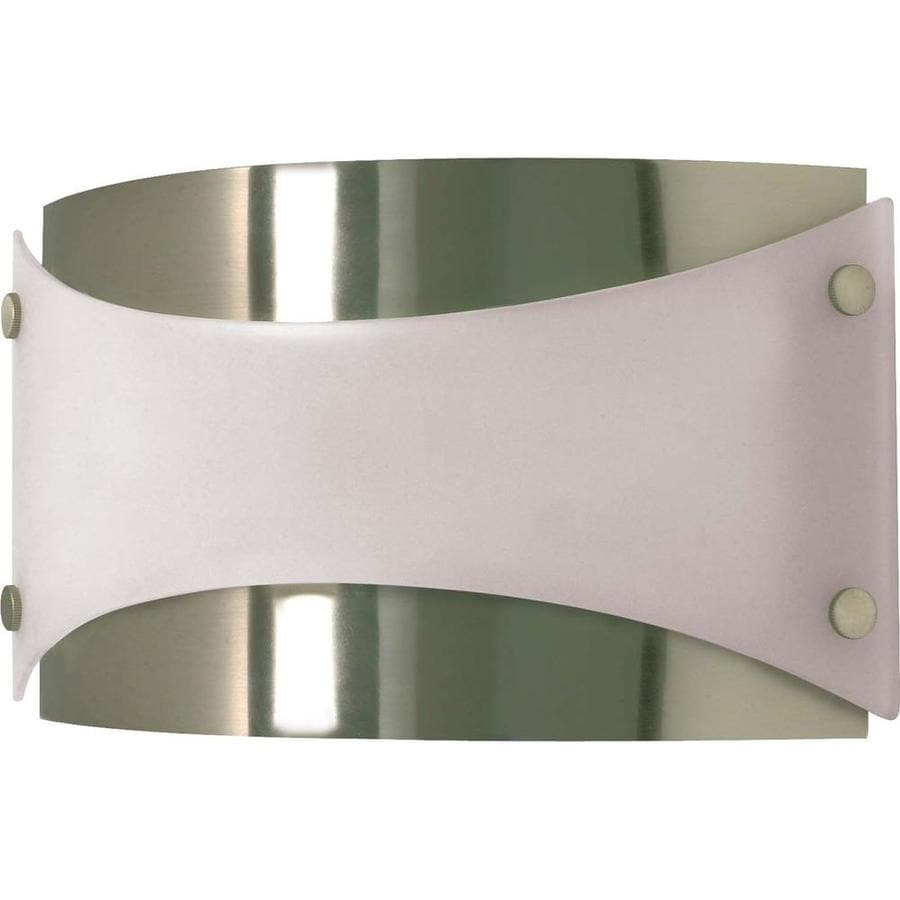 Castillo 15.07-in W 1-Light Brushed Nickel Pocket Wall Sconce
