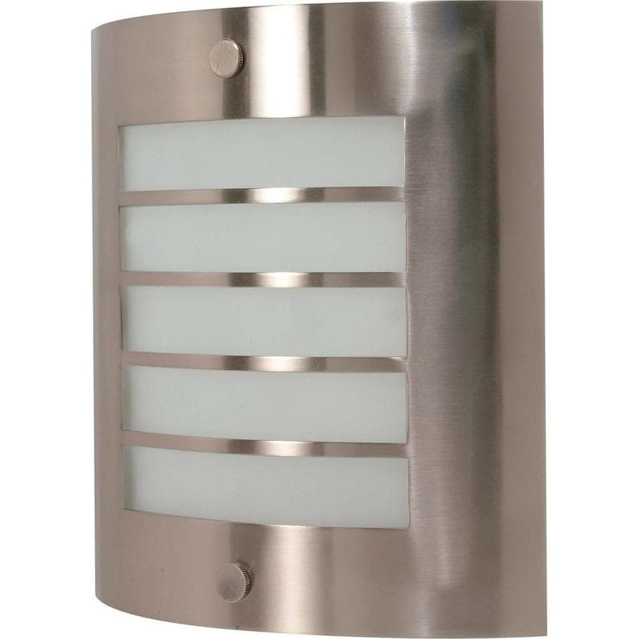 Castillo 15.35-in W 1-Light Brushed Nickel Pocket Wall Sconce