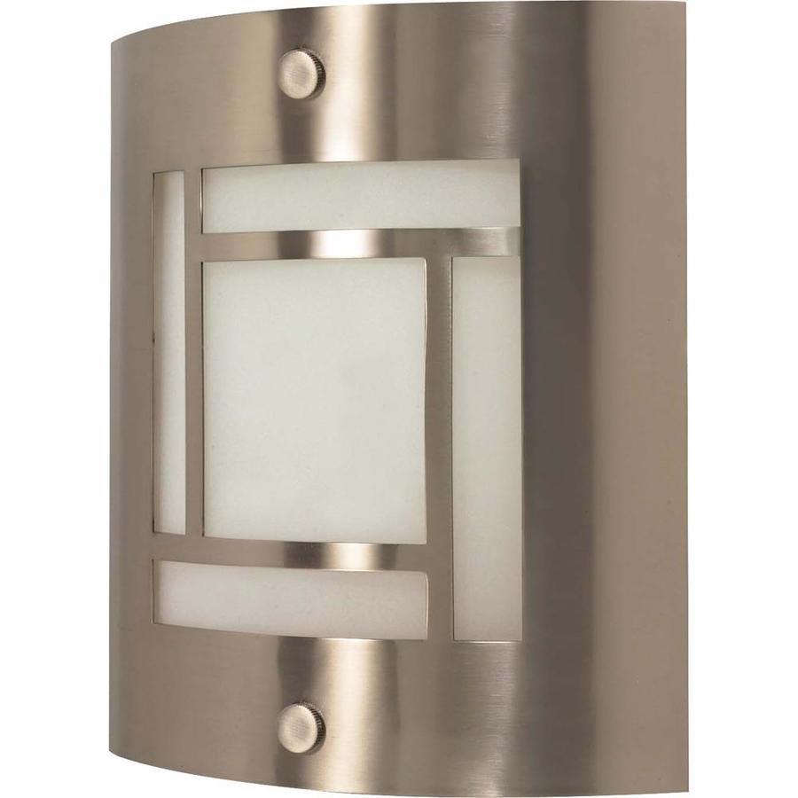 Castillo 15.35-in W 1-Light Brushed Nickel Pocket Wall Sconce