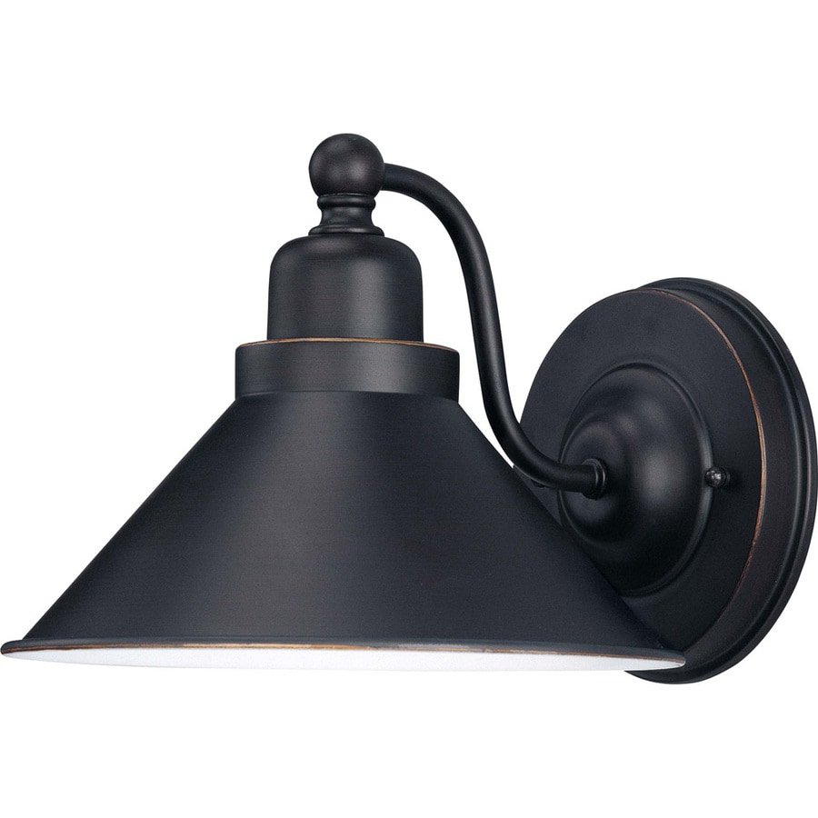 Amazing Bridgeview 8.5 In W 1 Light Mission Dust Bronze Arm Hardwired Wall Sconce