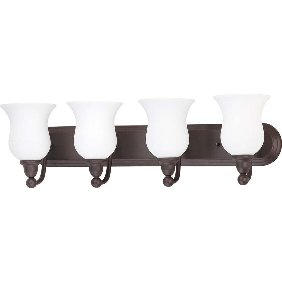 Glenwood 4-Light 8.5-in Sudbury Bronze Vanity Light