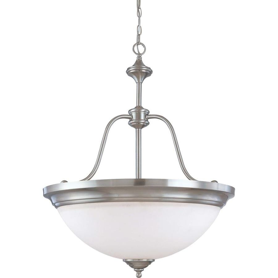Glenwood 13.62-in Brushed Nickel Single N/A Pendant