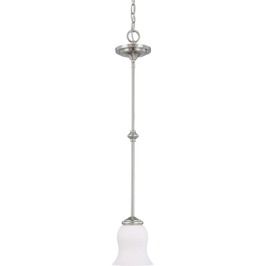 Glenwood 17-in Brushed Nickel Mini N/A Pendant