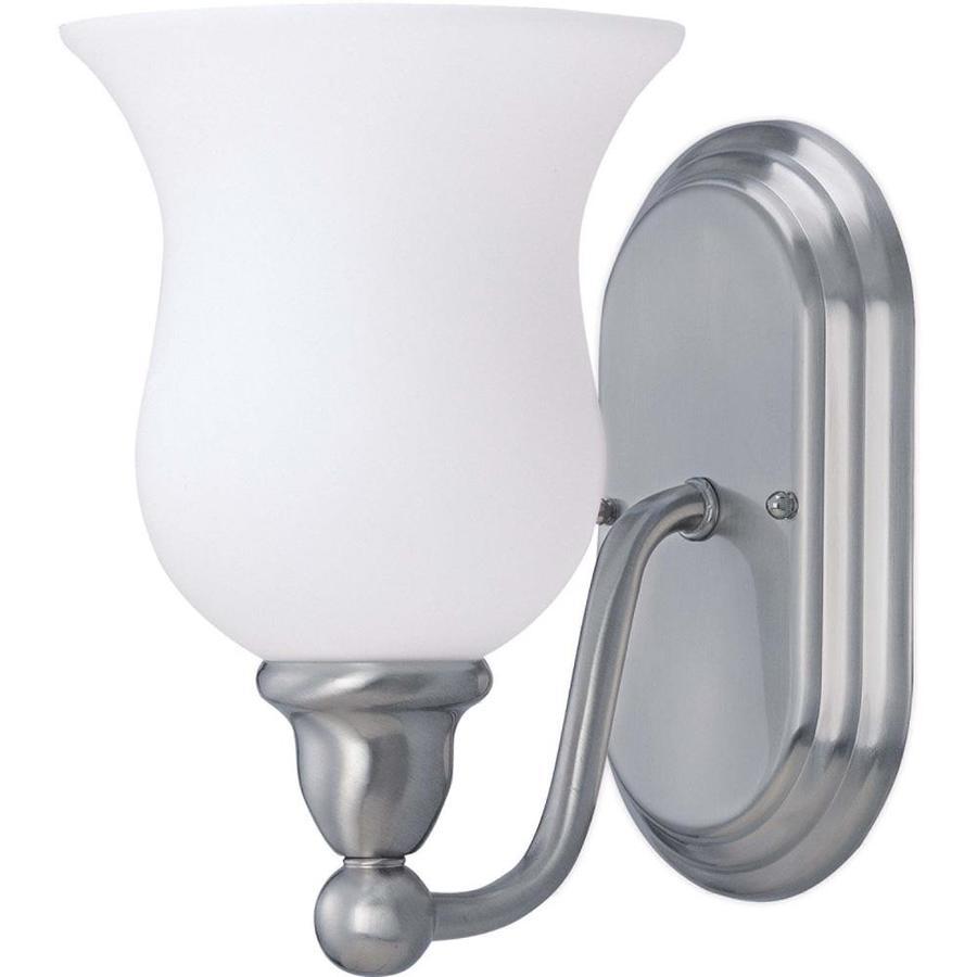 Glenwood 1-Light Brushed Nickel Vanity Light