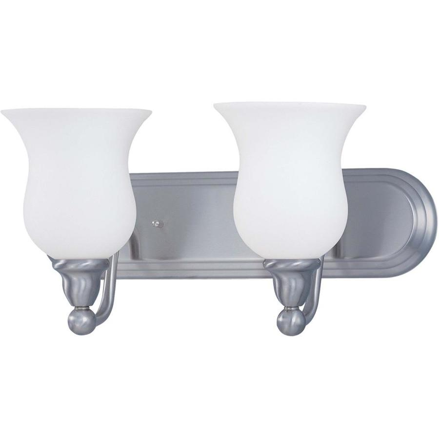 Glenwood 2-Light 8.5-in Brushed Nickel Vanity Light