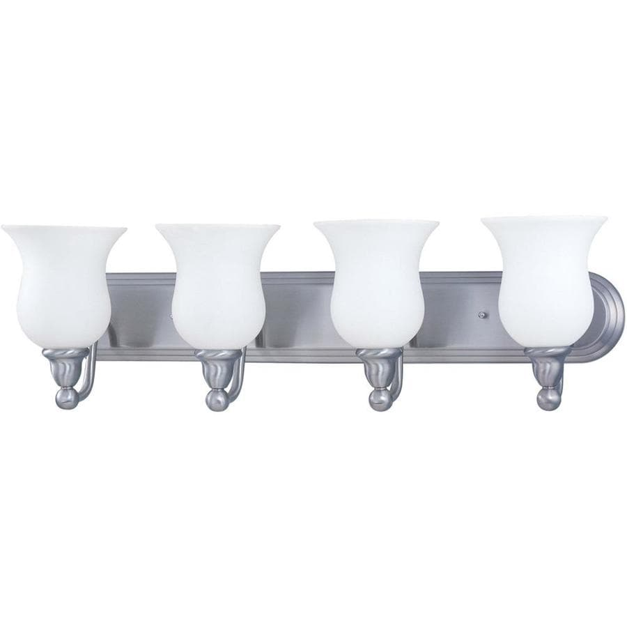 Glenwood 4-Light 8.5-in Brushed nickel Vanity Light
