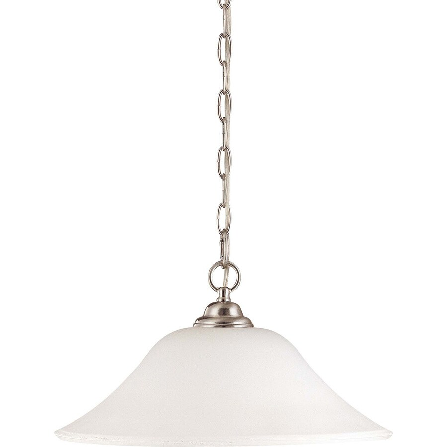 Dupont 17.87-in Brushed Nickel Mini N/A Pendant