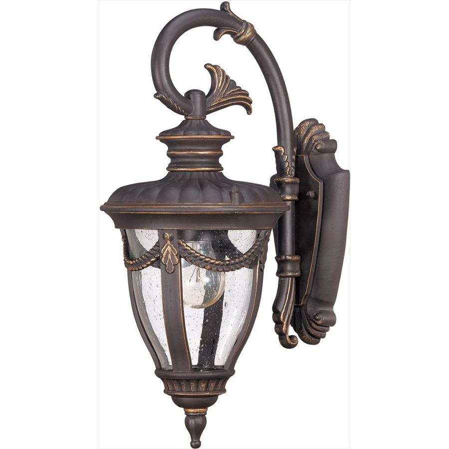 20.09-in H Belgium Bronze Outdoor Wall Light