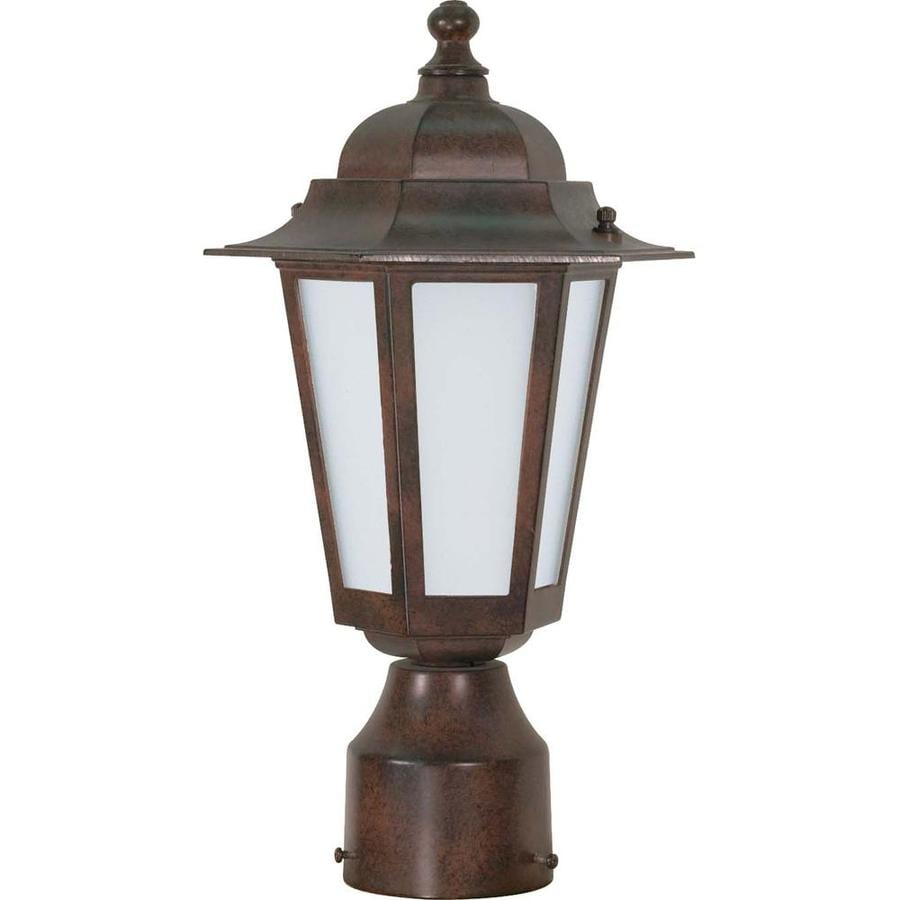 18.91-in W Old Bronze Outdoor Flush-Mount Light