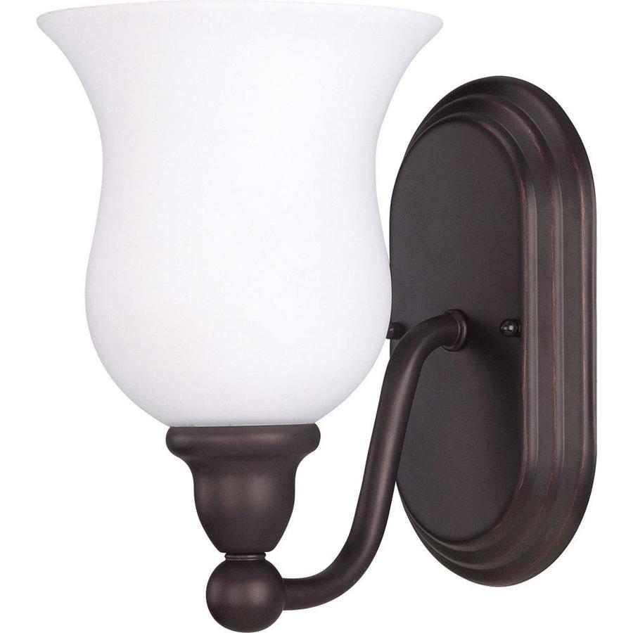 Glenwood 1-Light 8.5-in Sudbury Bronze Vanity Light