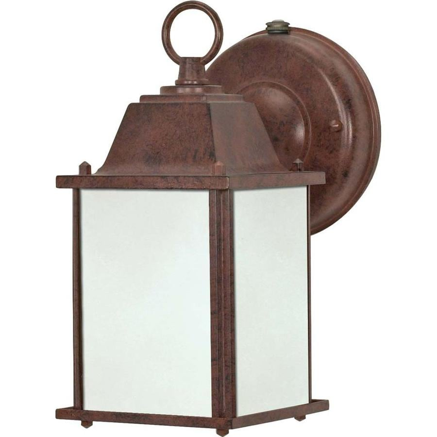 11.57-in H Old Bronze Outdoor Wall Light